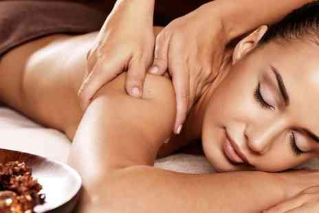 Ludlows Nspa - Aromatherapy Massage Plus Head Massage and Facial  - Save 75%