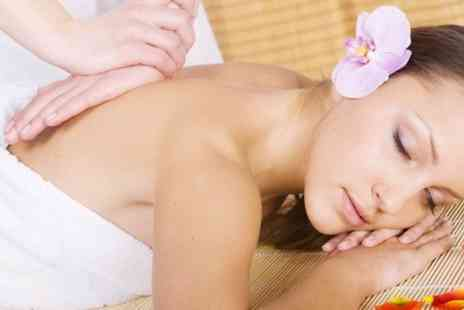 The Beauty Lounge - One Hour Facial or Full Body Massage With Pedicure  - Save 62%
