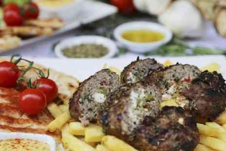 21 Bateman Street - Greek Burger Meal With Beer For One - Save 50%