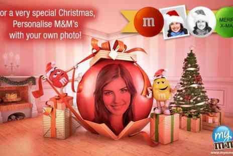 My M & Ms - Personalised My M&Ms For Christmas - Save 75%