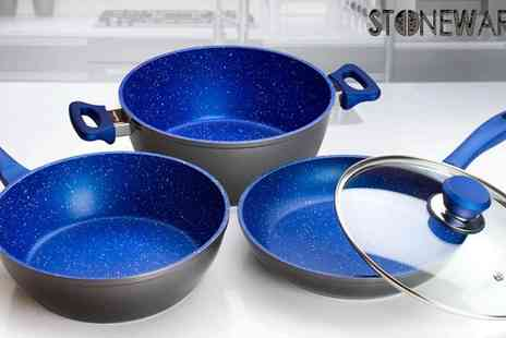 MSE Group - Three Piece Stoneware Cook Ware Set - Save 50%