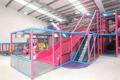 Spaceworld Soft Play - Family pass for 2 adults and 2 children to Spaceworld Soft Play - Save 50%