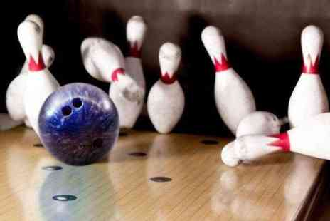 Perfection Sports and Leisure - Two  games of ten pin bowling for Two including a plate of nachos  - Save 72%