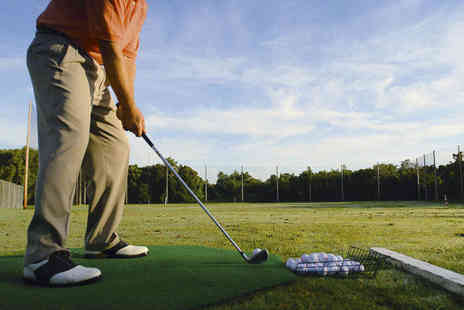Drive Time - Driving Range Entry with 200 Balls and Club Hire - Save 62%