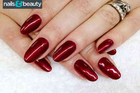 Nothing But Nails And Beauty - CND Shellac, Gelish, or Artistic Colour Gloss Manicure or Pedicure,Thalgo Facial  - Save 63%