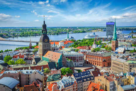 Major Travel - Three night break in Riga Latvia including return flights and daily breakfast - Save 33%