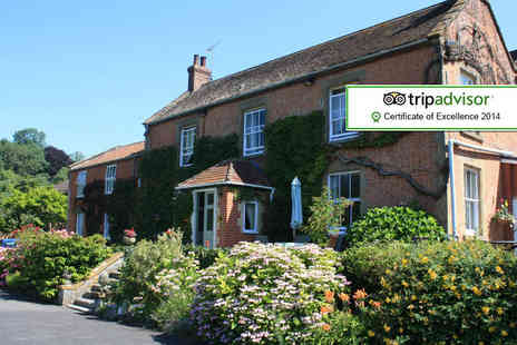 Woodlands Country House Hotel - One night Somerset stay for 2 including cream tea - Save 47%