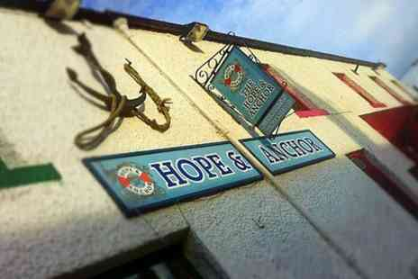 The Hope And Anchor - One Night stay For Two With Breakfast - Save 0%