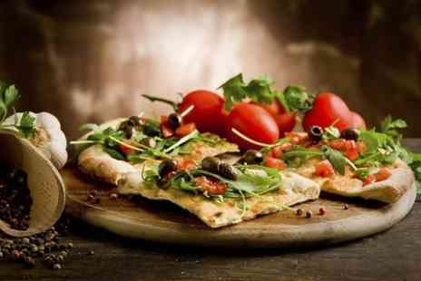 The Brasserie Pizza Pasta - Pizza Main Course For Two - Save 55%