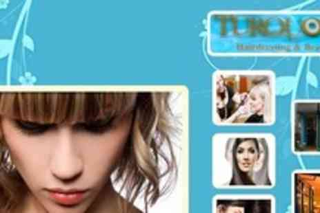 Turquoise Hairdressing & Beauty - Wash, Cut and Blowdry, plus a Treatment and Finish - Save 89%