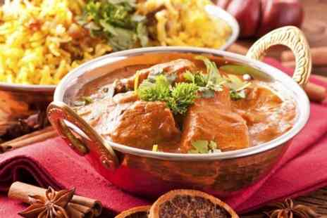 Kerala Kitchen - Indian Meal With Poppadoms and Rice - Save 54%