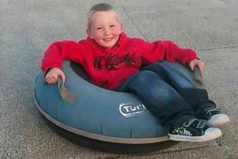 Swadlincote ski centre - Sno Tubing and Tobogganing For Two - Save 56%