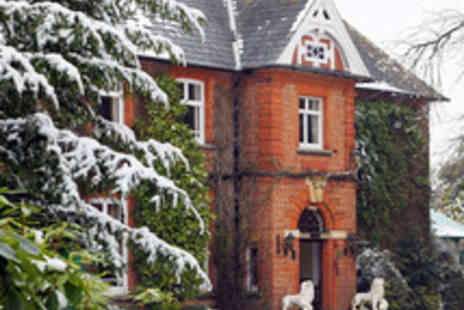 Ardencote Manor Hotel - Festive Break in a Grand Warwickshire Country Hotel with Three Course Dining - Save 52%