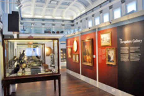 Shrewsbury Museum - Entry to Shrewsbury Museum, Art Gallery and Shrewsbury Castle  - Save 64%