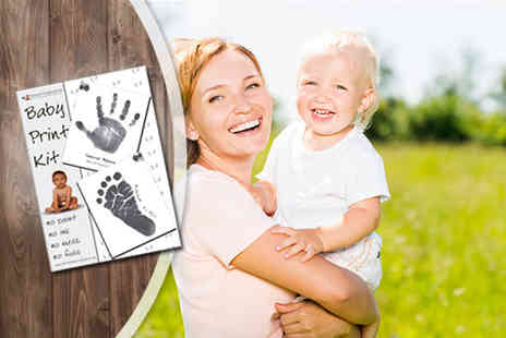 Eternal Impressions - Baby handprint and footprint kit  - Save 50%