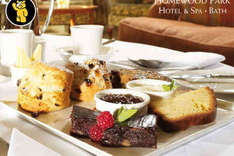 Homewood Park - Afternoon Tea for Two - Save 49%