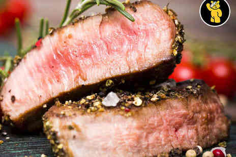 The Coventry Arms - Jurassic Fillet Steak or Sirloin Steak Dinner for Two - Save 49%