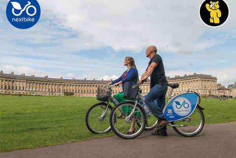 nextbike - £20  to Spend on Bike Hire or Annual nextbike Subscription - Save 50%