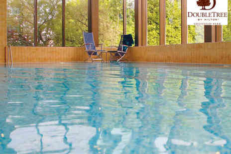 Double Tree by Hilton Sheffield Park - Hilton Hotel Spa Day for Two with Refreshments  - Save 0%
