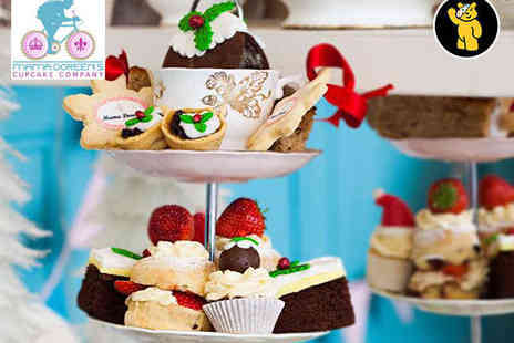 Mama Doreens Cupcake Company - Winter Wonderland Afternoon Tea for Two  - Save 53%