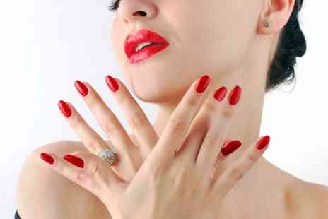Breathless Beauty Studio - Gelish Manicure  and Pedicure  - Save 50%