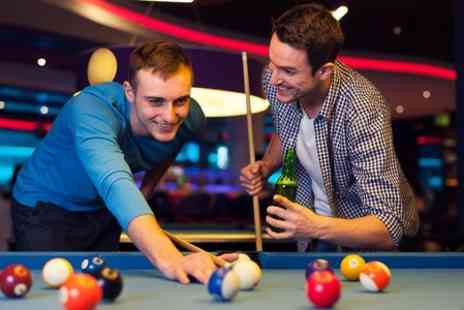 Blackpool Snooker - Two Hours Play With Food and Beer For Two  - Save 74%