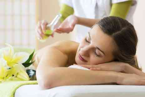 Essential Spa - Aroma Facial Plus Scalp and Swedish Back Massages - Save 76%