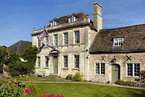 The Old Manor Hotel - Overnight Wiltshire Georgian Manor Stay with Tasting Menu Dinner - Save 48%