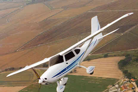Sheffield Aero Club - One Hour Light Aircraft Flying Lesson for One - Save 51%