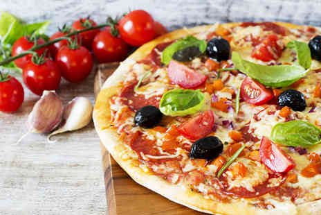 Sackville Lounge - Pizza and glass of Budweiser beer for Two - Save 52%