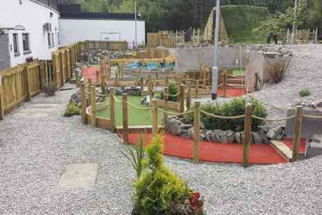 The Wee Heilan Man Adventure Golf - Crazy Golf For Two - Save 54%