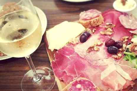 Veeno - Wine Tasting With Italian Tapas Platter For Two - Save 52%