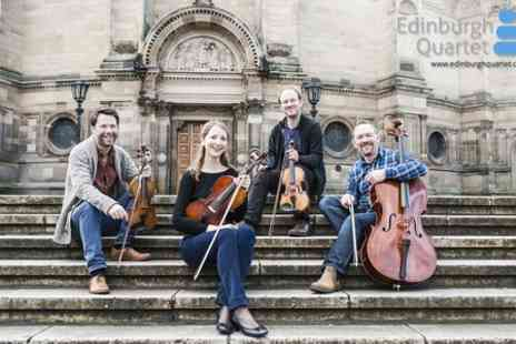 Edinburgh Quartet -  Ticket For One at The Edinburgh Quartet  - Save 50%