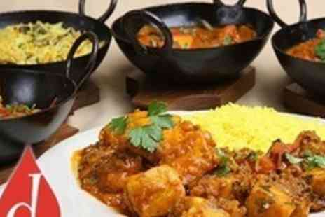 Dhaka Indian Cuisine - Two Course Indian Meal With Rice For Four - Save 78%