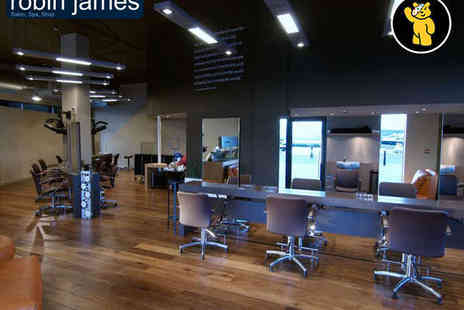 robin james Salon Spa Shop - 45 Minute Facial or Massage with Consultation, and Blow Dry and Style - Save 0%