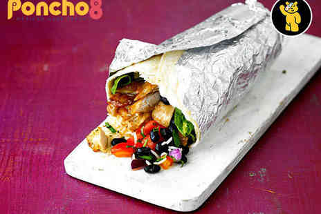 Poncho 8 -  Any Two Mexican Meal from the Menu - Save 49%