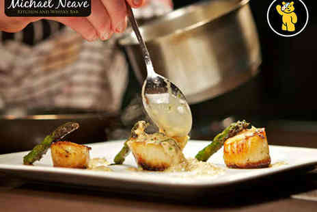Michael Neave Kitchenr - Two Course Meal for Two - Save 54%