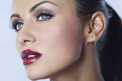 Salon 69 - Semi Permanent Eyelashes With Eyebrow Threading or Wax Plus Tint  - Save 65%