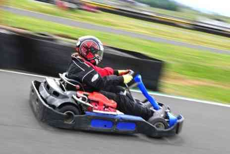 Knockhill Racing Circuit - 100 Lap Endurance Karting  - Save 50%