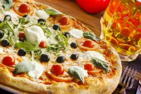 GianCarlos Arcaffe - Italian Pizza or Burger With Beer For Two  - Save 51%