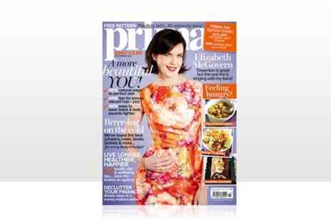 Hearst Magazines - 12 or 24 Month Prima Magazine Subscription  - Save 44%