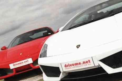 Drive Me - Junior supercar experience - Save 67%