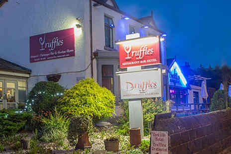 Truffles  Hotel & Restaurant - One night stay with three course meal - Save 47%