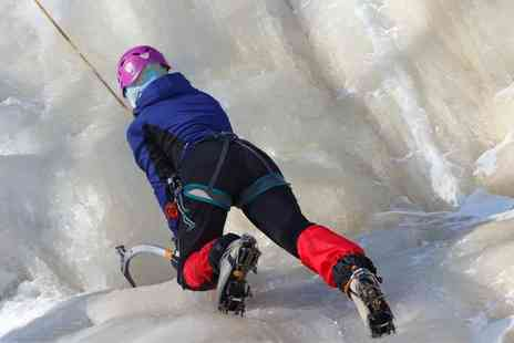 Activity Superstore - Ice climbing experience for one  - Save 0%