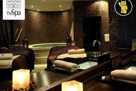 The Spa at Oulton Hall - Winter Warmer Spa Day with Two ESPA Treatments, Full Use of Facilities, Hot Chocolate, and Robe and Slippers for One - Save 53%