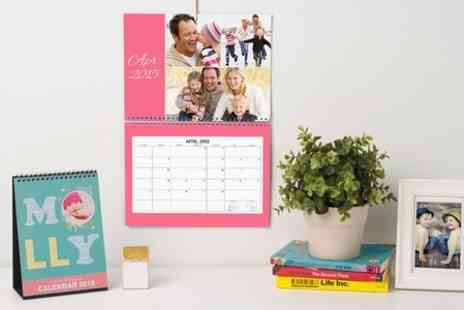 Photobook - 28 Page Wall Calendar - Save 65%
