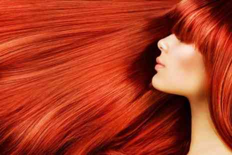 Rave Hair and Beauty - Cut and Blow Dry With Full Head Colour or T Section Highlights - Save 58%