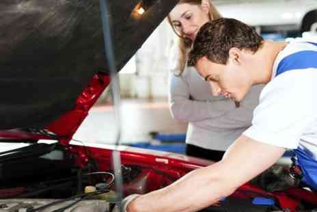 Triumph Road tyres - Car Air Con Service With Re Gas Plus 54 Point Inspection - Save 84%