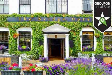 The Bridge Hotel - One Night Stay For Two With Breakfast and Dinner - Save 64%