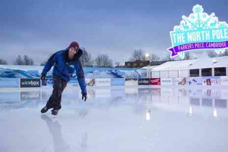 Hot Chocolate - Entry to The North Pole and Ice Skating For Adult - Save 9%